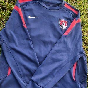 Nike Men's Dri-Fit USA Soccer  Training Pullover